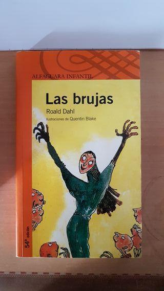 Libro Las Brujas de Roald Dahl