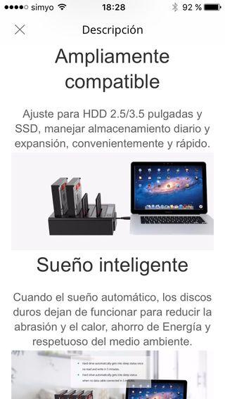 DISCO DURO EXTERNO SATA HDD