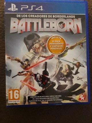 BATTLEBORN. PS4.