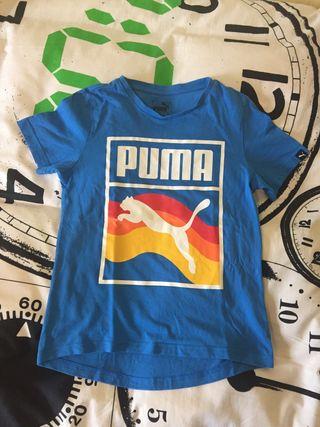 Camiseta niño Puma