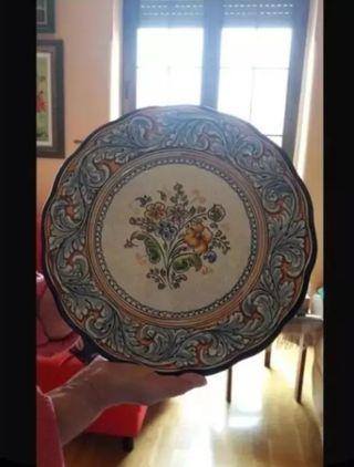 Plato cerámica Talavera