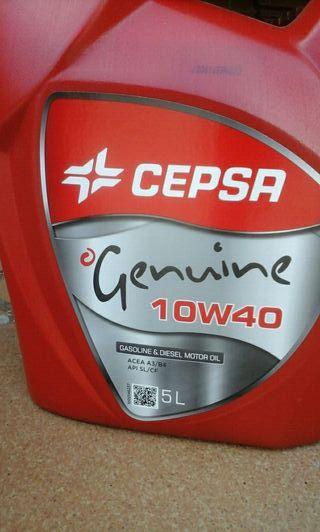 Aceite 10W40 Cepsa genuine