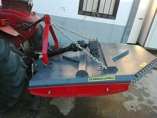 desbrozadora tractor nueva de 1'40