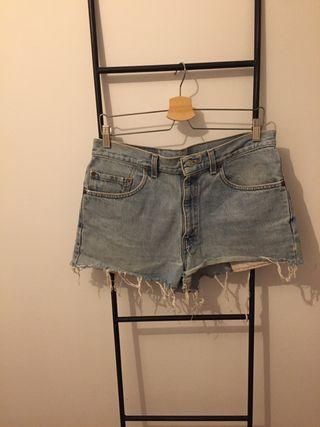 Levis jean shorts vaqueros