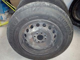 ruedas furgoneta, remolque