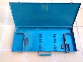 Caja de acero, para transporte de brocas
