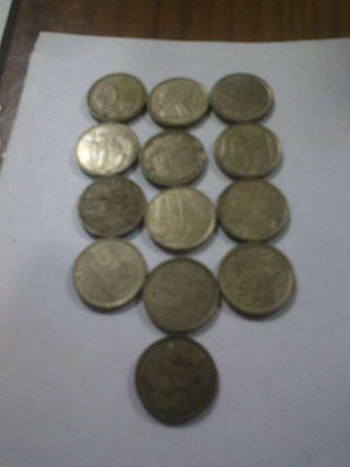 Monedas españolas todas 1€