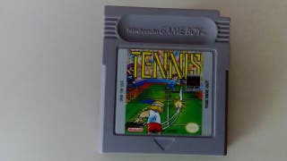 Tennis, game boy