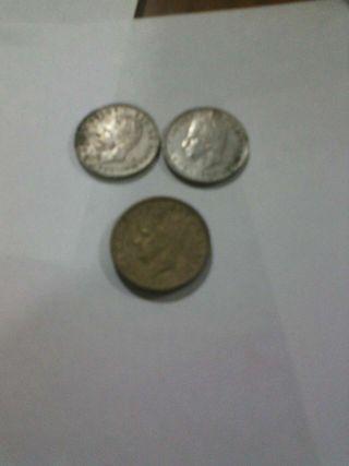 Monedas de España las tres 1€