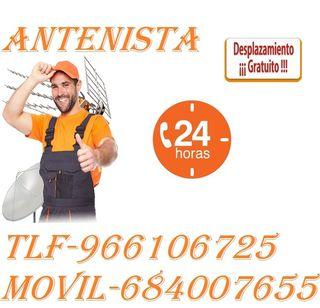 Antenista-Barato-30%Dto+Dpz-Gratis!