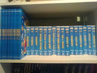 colección de vídeo y libro en inglés