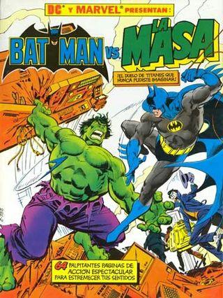 Comic BATMAN VS. HULK