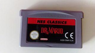 Dr Mario Nes Classic, game boy advance