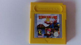 Donkey Kong Land 3, game boy