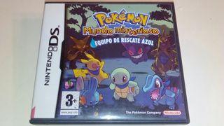 Pokemon equipo de rescate azul, ds
