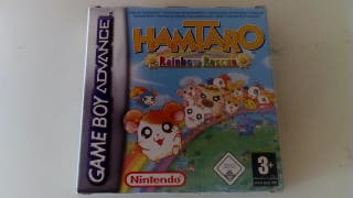 Hamtaro Rainbow Rescue, game boy advance