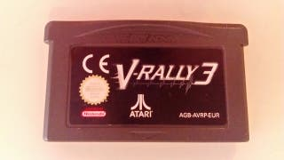 V-Rally 3, game boy advance