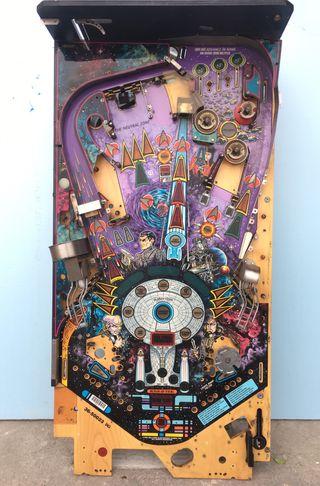 Playfield Star Trek Pinball