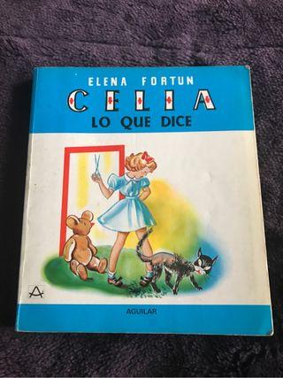 Libro Celia lo que dice