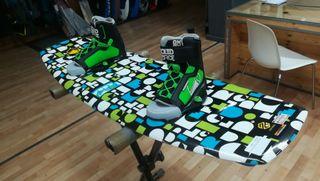Tabla Wakeboard con botas