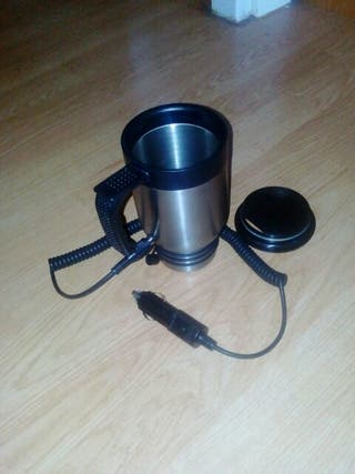 Calentador de cafe para coche