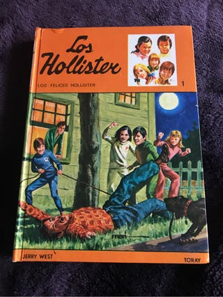 Libro los Hollister de los 70