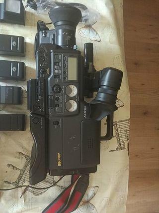 Camara de video 8mm Sony hi pro