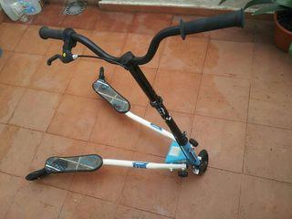 Patinete Trywil 3 ruedas+casco
