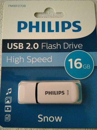 PENDRIVE PHILIPS 16 GB