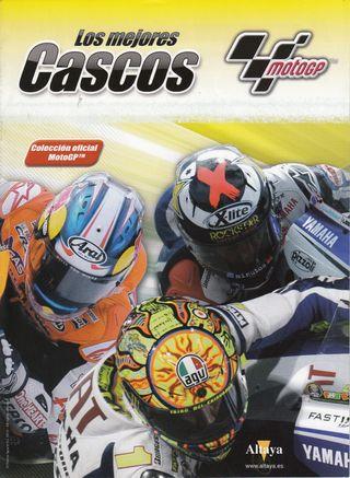 Colección Cascos Moto GP