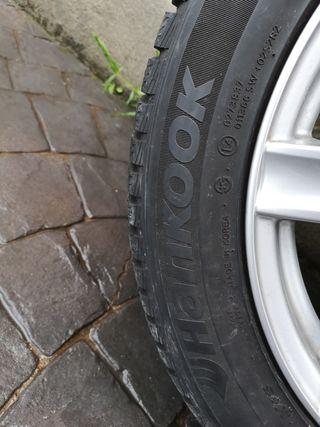 Ruedas: neumático más llanta