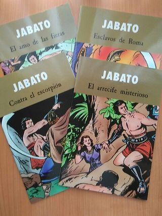 El Jabato. 4 cómics