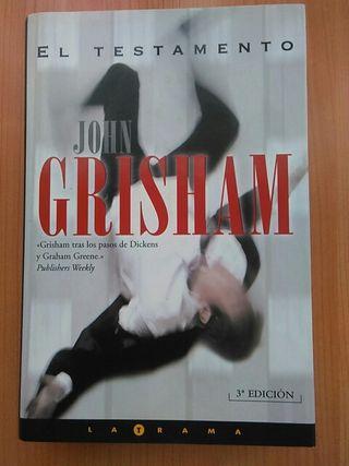 El Testamento. John Grisham.