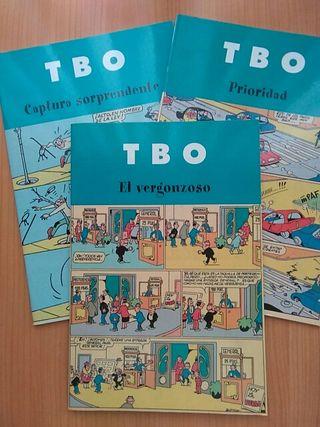 3 cómics de TBO