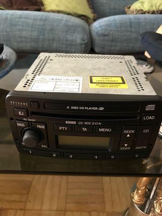 RADIO CD DE 6 CARGADORES ORIGINAL FORD FOCUS 2004