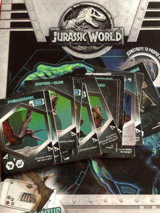 Cromos Jurassic World