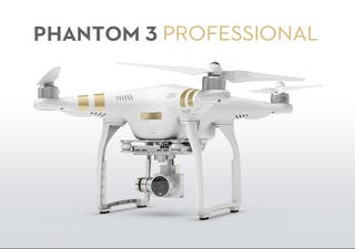 Drone phantom 3 profesional 4k
