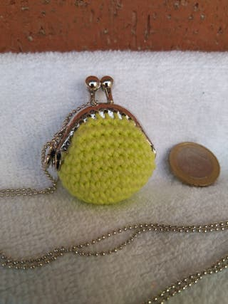 Collar vintage ganchillo