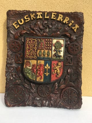 Escudo madera , Euskalerria