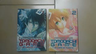 tomos 1 y 2 Tomodachi Game Manga