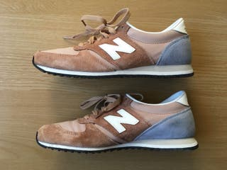 New Balance 420 Womens Trainers in Beige