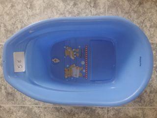 bañera para bebé.