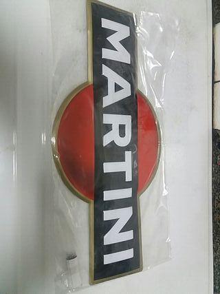 cartel de martini