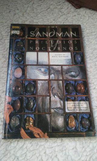 Comic The Sandman Preludios y Nocturnos