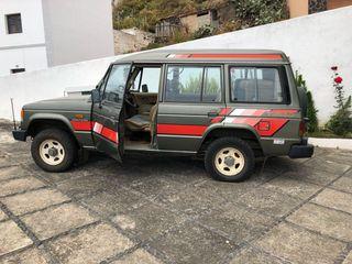 Mitsubishi Montero 1986, en la isla de El Hierro!