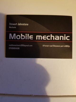 Mobile mechanic ellesmere port 07436004186
