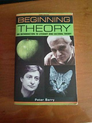 beginning theory Peter Barry uned estudios inglese