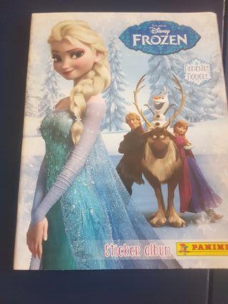 Album stiker de Frozen : Momentos magicos