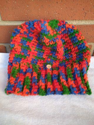 Gorro mujer multi color lana acrílica OFERTA