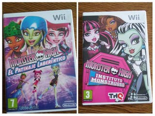 Juegos Monster High para Wi